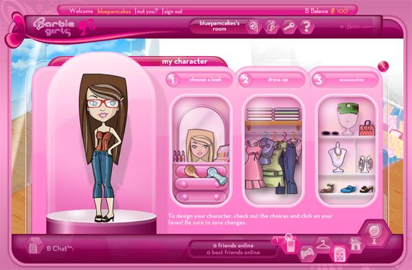 girl games barbie